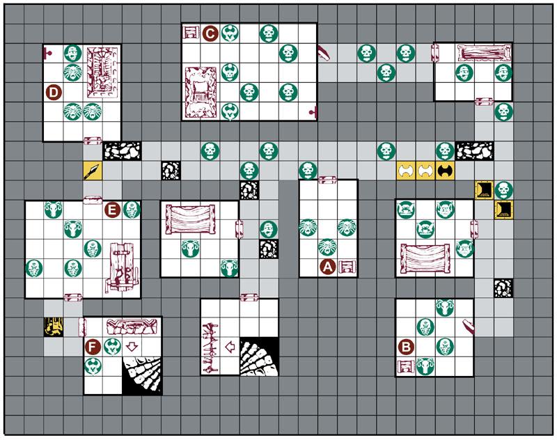 Advanced HeroQuest Quest Map